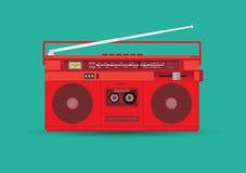 Magnetisk kassettspelare Royaltyfri Bild