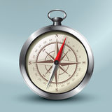 magnetisk kompass Arkivbilder