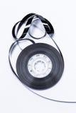 Magnetisk ljudband för gammalt mode Royaltyfria Foton