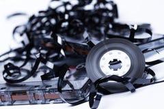 Magnetisk ljudband för gammalt mode Royaltyfria Bilder