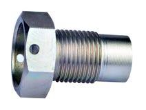 Magnetisk propp för motorolja Royaltyfri Bild