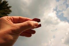 magnetisk sky Arkivfoto