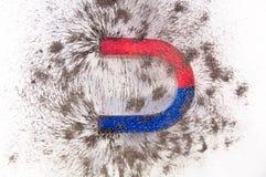 Magnetiska hästskor Royaltyfria Foton