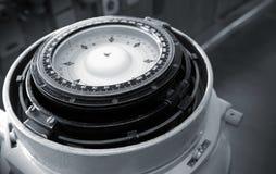 magnetiskt sjö- för kompass royaltyfria foton