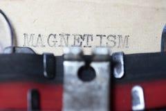 magnetismo Fotos de archivo