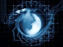 Magnetismo de la luna Imagenes de archivo