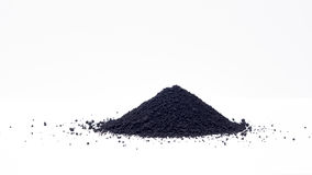 Magnetite  iron(II,III)  oxide (Fe3O4) Royalty Free Stock Photo