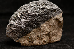 Magnetite mineral sample Royalty Free Stock Images
