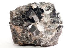 Magnetite mineral sample Royalty Free Stock Photography