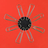 Magnetized clips Stock Images