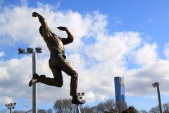 Magnetocardiograma Melbourne da estátua de Dennis Lellee  Foto de Stock