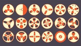 magnetofonowe rolki Obraz Stock