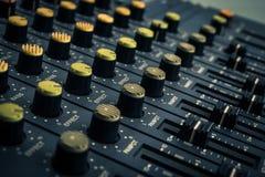 Magnetofonowy melanżer Obraz Stock