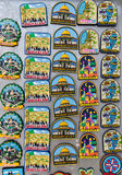 Magnets Souvenirs. From Jerusalem Old City royalty free stock photos
