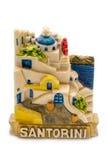 Magnetverzierung von Santorini Lizenzfreies Stockbild