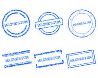 Magnezów znaczki Zdjęcie Stock