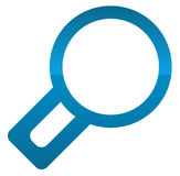 Magnfier glass icon. Zoom, examine, research, lookup, search for Stock Photos