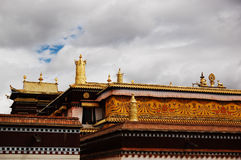 A magnific Tibet temple Stock Image