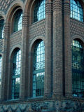 Magnificant building. Magnificant industrial brick building royalty free stock photography