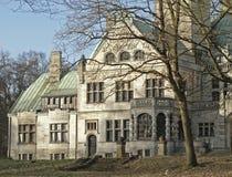 Magnificant slott-SchlossGrabau-Tyskland Arkivbild