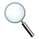 Magnification glass Stock Photography