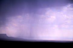 Magnificence View of Raining Kaibab Platea, Arizona Royalty Free Stock Photography