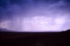 Magnificence View of Raining Kaibab Platea, Arizona Royalty Free Stock Images
