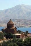 The magnificent Akdamar Killisesi on Akdamar Island on Lake Van in eastern Turkey. Stock Photo