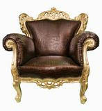Magnificent Armchair. Stock Photo