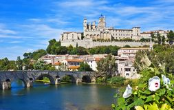 Magnificent Béziers Royalty Free Stock Photography