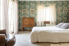 Magnificent bedroom for grand personalities Royalty Free Stock Photography