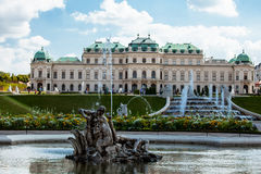 Magnificent Belvedere Palace Stock Images