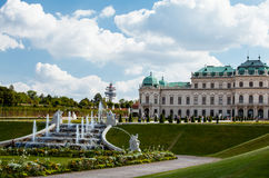 Magnificent Belvedere Palace Royalty Free Stock Photo