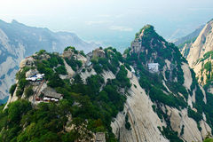 Magnificent Canglong ridge_Hua mountain_xian Royalty Free Stock Photography