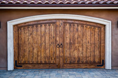 Magnificent Carriage Doors Stock Images
