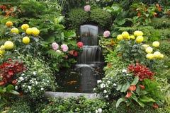 Magnificent Cascade Fountain Stock Photo