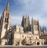 The magnificent cathedral of Burgos Royalty Free Stock Image