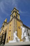 Magnificent Cathedral in Mazatlan Stock Images