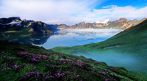 Magnificent Changbai Royalty Free Stock Photos