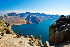 The magnificent Changbai mountain Stock Images