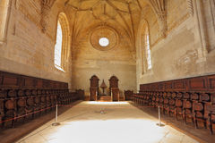 The magnificent chapel with a vaulted ceiling Royalty Free Stock Image