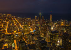 Magnificent Chicago Skyline Stock Photography