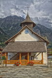 Magnificent church in Switzerland Royalty Free Stock Images