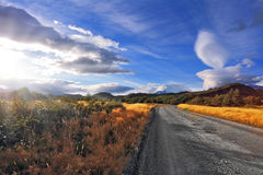 Magnificent clouds over Patagonia Stock Image