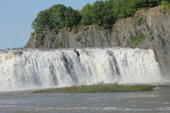 Magnificent Cohoes Falls Royalty Free Stock Image