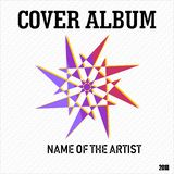 Magnificent Cover Album Music and Photography Vector Illustration vector illustration