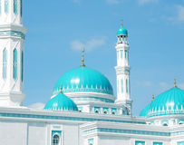 Magnificent dome of the mosque in Karaganda Stock Photo