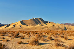 Magnificent dune Eureka in desert Royalty Free Stock Image