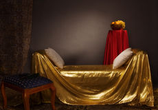 Magnificent elegant bedroom Royalty Free Stock Images