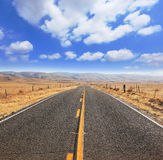 The magnificent equal highway Royalty Free Stock Image